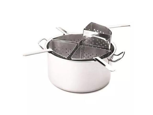 Panela Cozi-Pasta Tramontina Professional Aço Inox 4 Recipientes - 1