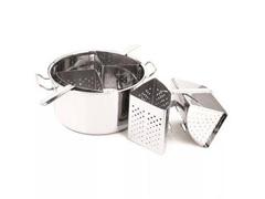 Panela Cozi-Pasta Tramontina Professional Aço Inox 4 Recipientes - 2