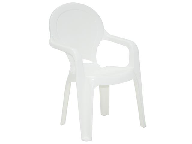 Cadeira Infantil Tramontina Tique Taque Branco - 1