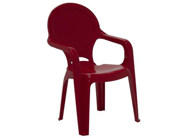 Cadeira Infantil Tramontina Tique Taque Vermelha - 1
