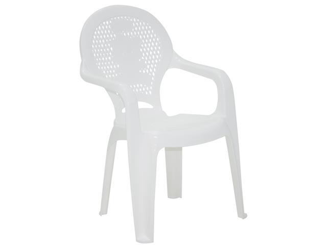 Cadeira Infantil Tramontina Estampada Catty  Branca - 1