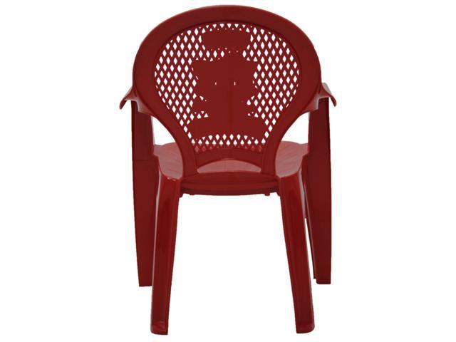 Cadeira Infantil Tramontina Estampada Catty  Vermelha - 3