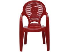Cadeira Infantil Tramontina Estampada Catty  Vermelha