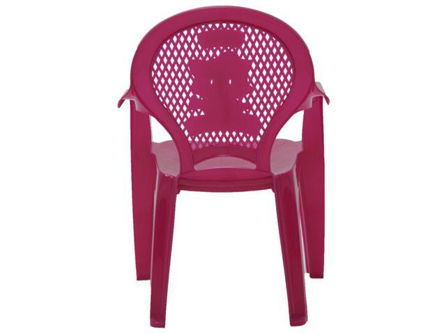 Cadeira Infantil Tramontina Estampada Catty Rosa - 3