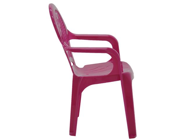 Cadeira Infantil Tramontina Estampada Catty Rosa - 2