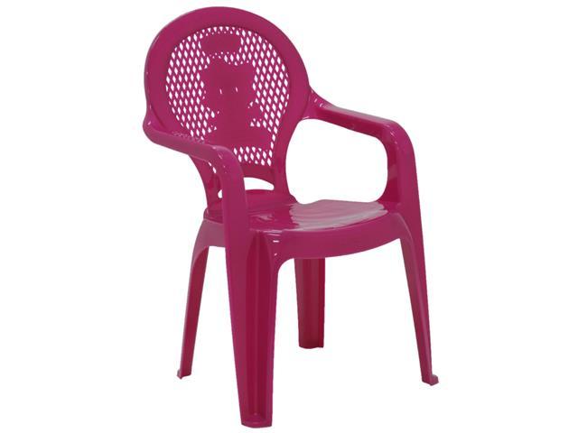 Cadeira Infantil Tramontina Estampada Catty Rosa - 1
