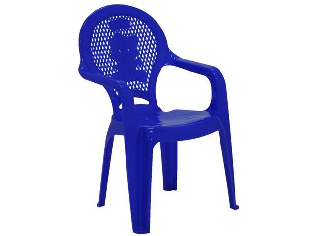 Cadeira Infantil Tramontina Estampada Catty Azul - 1