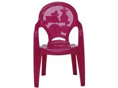Cadeira Infantil Tramontina Estampada Catty Rosa 2