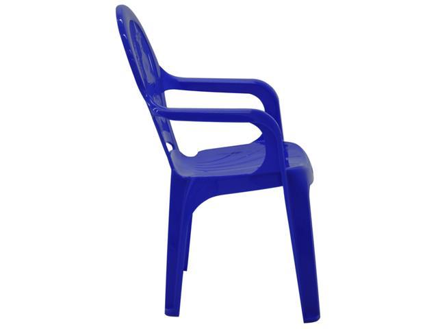 Cadeira Infantil Tramontina Estampada Catty Azul 2 - 2