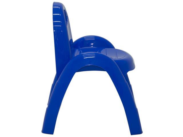 Cadeira Infantil Tramontina Popi Azul - 2