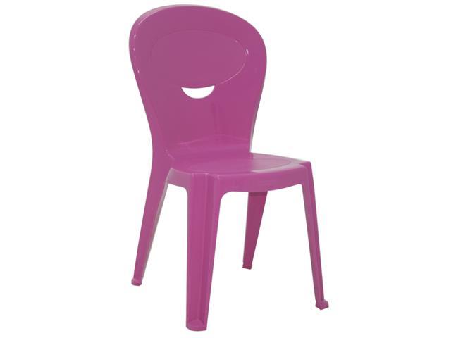 Cadeira Infantil Tramontina Vice Rosa - 1