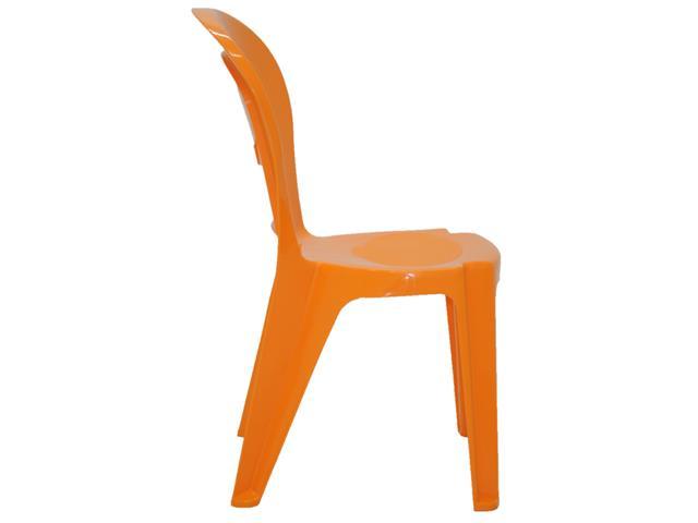 Cadeira Infantil Tramontina Vice Laranja - 2