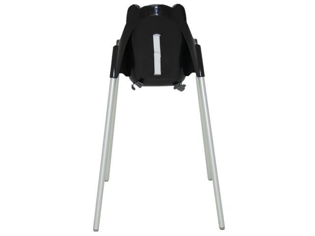 Cadeira Infantil Alta Tramontina Teddy Preta - 3