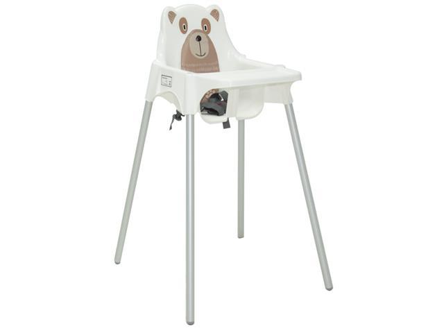 Cadeira Infantil Alta Tramontina Teddy Branca - 1