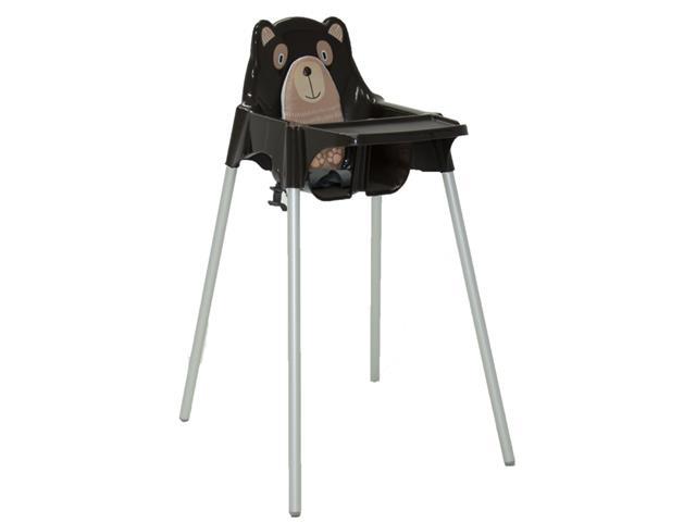 Cadeira Infantil Alta Tramontina Teddy Marrom - 1