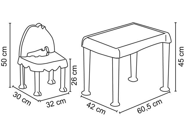 Conjunto Mesa e Cadeira Tramontina Monster - 3