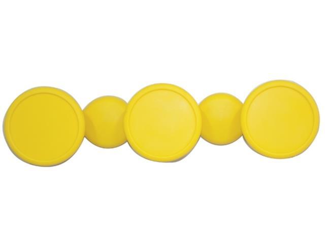 Cabide em formato Bola Tramontina Amarelo