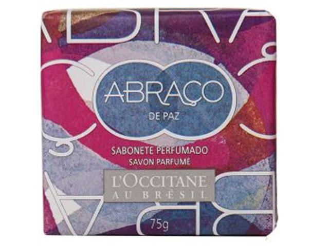 Sabonete Perfumado L'Occitane au Brésil Abraço de Paz 75g