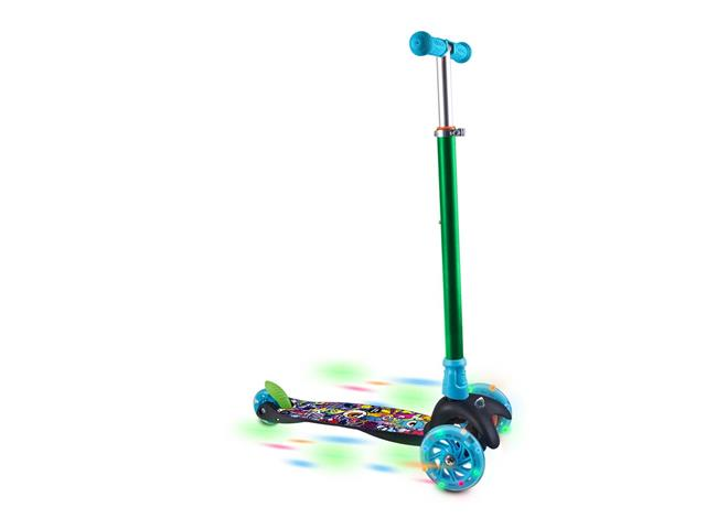 Patinete Infantil Átrio Monster 3 Rodas com Led - 1