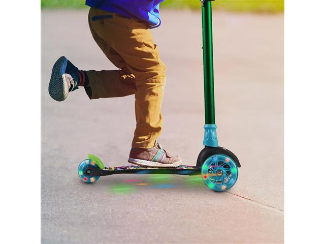 Patinete Infantil Átrio Monster 3 Rodas com Led - 2