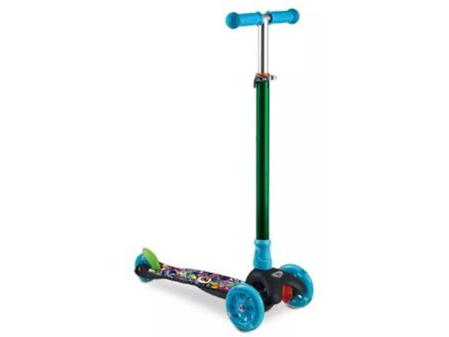 Patinete Infantil Átrio Monster 3 Rodas com Led