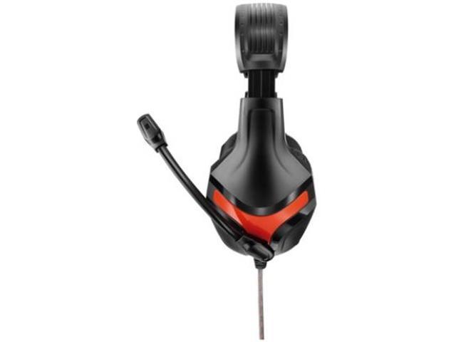 Headset Gamer Multilaser Warrior P2 Preto e Vermelho - 2
