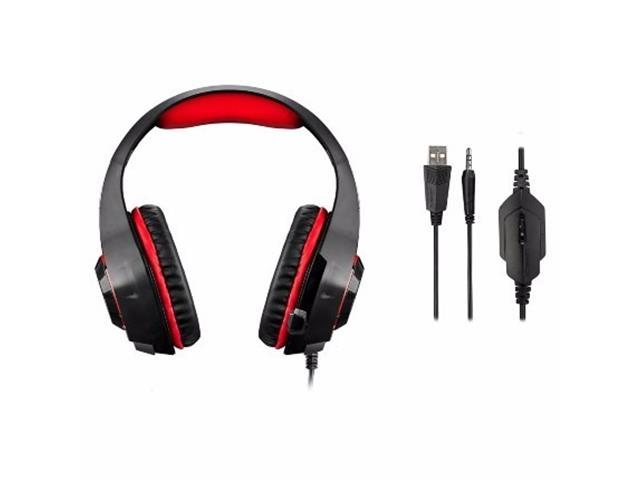 Headset Gamer Multilaser Warrior com Led - 3