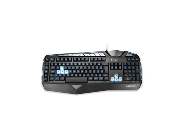Teclado Gamer Multilaser Warrior Semi Mecânico ABNT2 Preto com LED - 4