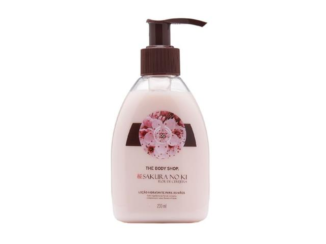 Loção Hidratante para as Mãos The Body Shop Sakura No Ki 200mL