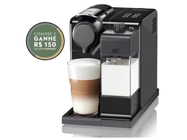 Cafeteira Nespresso Automática Lattissima Touch Facelift Black 110V