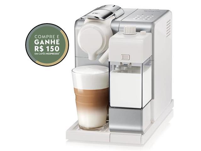 Cafeteira Nespresso Automática Lattissima Touch Facelift Silver 220V