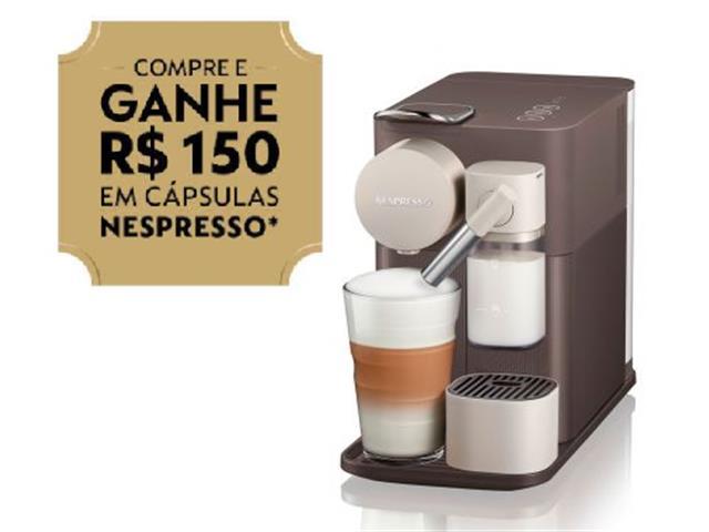 Cafeteira Nespresso Automática Lattissima One Mocha Brown