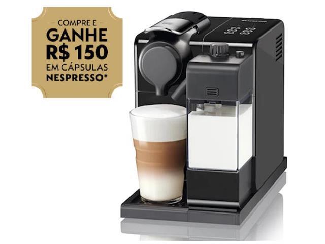 Cafeteira Nespresso Automática Lattissima Touch Facelift Black