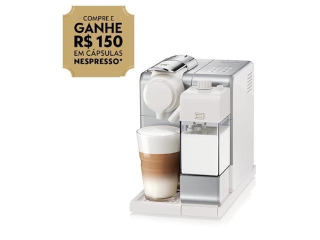 Cafeteira Nespresso Automática Lattissima Touch Facelift Silver