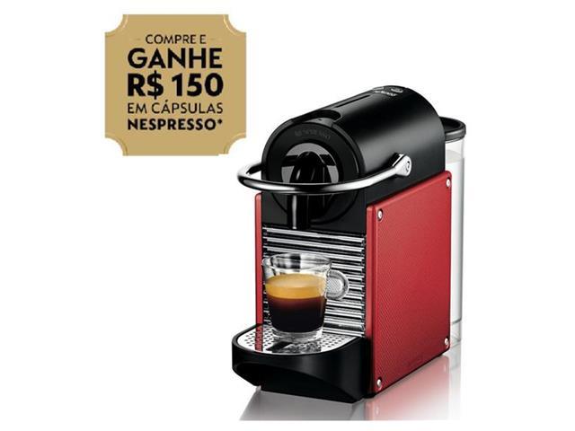 Cafeteira Nespresso Automática Pixie D60 Vermelho Carmine
