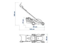 Cortador de Grama Elétrico Tramontina 1300W 35cm 220V - 3