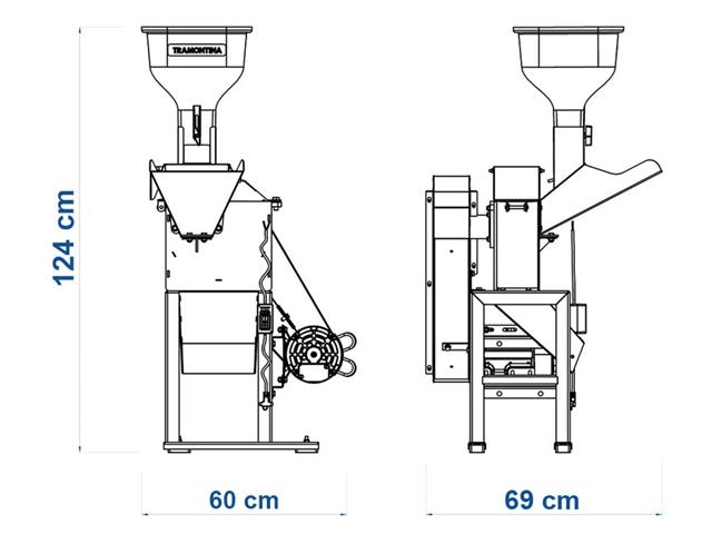 Triturador Tramontina TRE40 3HP Monofásico Bivolt - 5