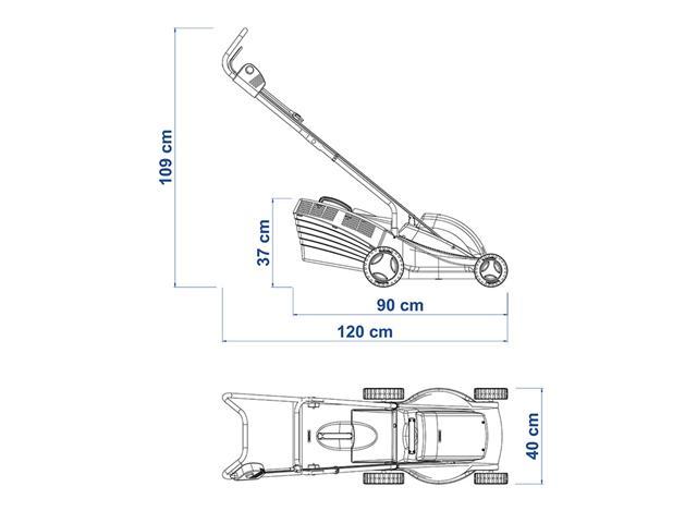 Cortador de Grama Tramontina Elétrico 1300W 35cm - 3