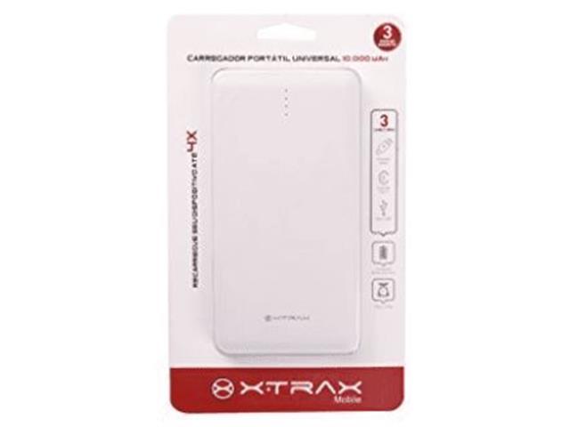 Carregador Portátil Micro USB Tipo C Lightning Xtrax 10.000 mAh - 2