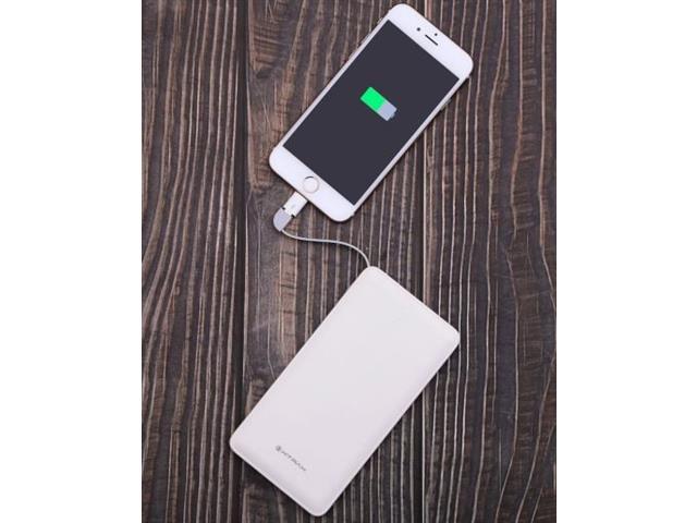 Carregador Portátil Micro USB Tipo C Lightning Xtrax 10.000 mAh - 1