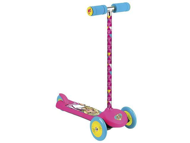 Patinete Barbie Tri Wheels Fun com 3 Rodas