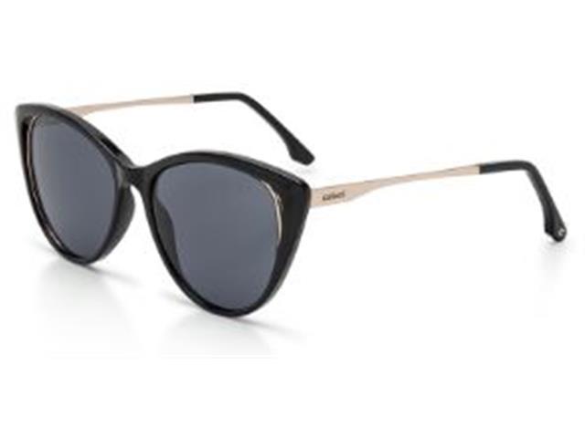 Óculos Sol Colcci Valentina Preto Lente Cinza