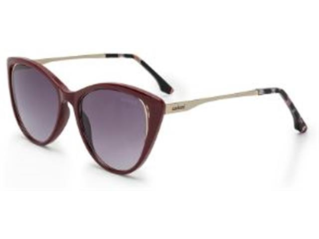 Óculos Sol Colcci Valentina Bordô com Dourado Lente Cinza