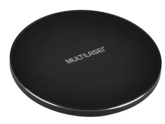 Carregador Multilaser Wireless Concept Pad sem Fio para Smartphone