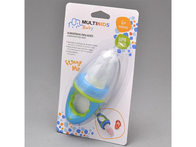 Alimentador com Tela Multikids para Bebês Azul - 3