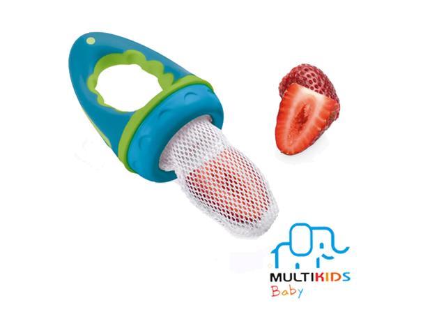 Alimentador com Tela Multikids para Bebês Azul