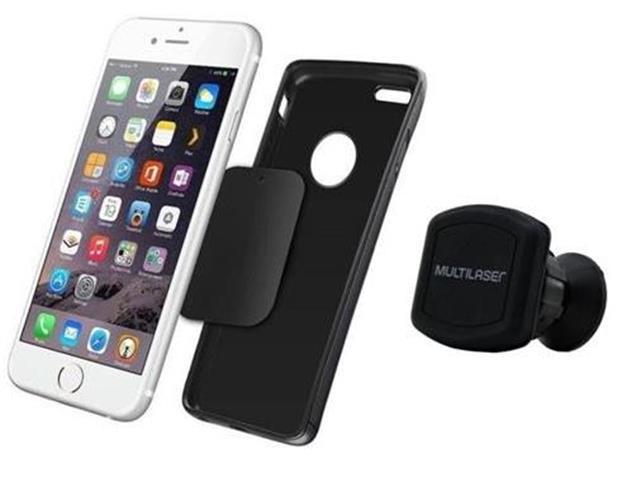 Suporte Automotivo Magnético Multilaser para Smartphone - 2