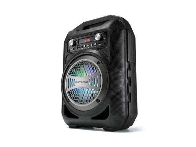 Caixa De Som Portátil Amplificadora Multilaser Bluetooth com Microfone
