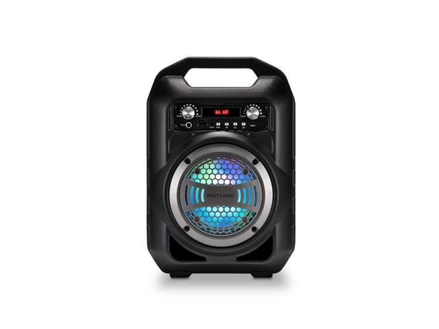 Caixa De Som Portátil Amplificadora Multilaser Bluetooth com Microfone - 1