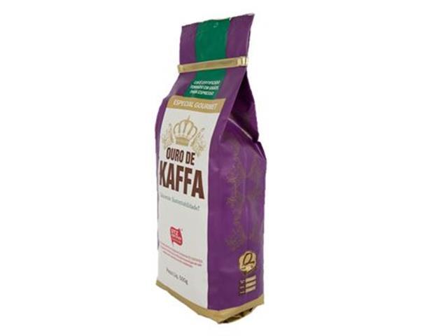 Café Ouro de Kaffa Gourmet em Grãos  500g - 1